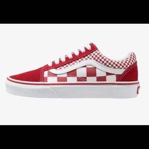 Vans Shoes - Checkerboard lace up Vans